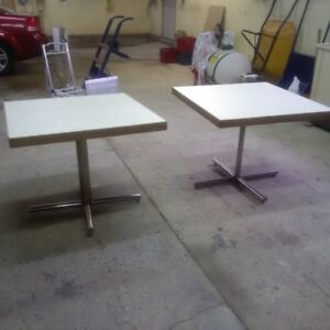 TWO   3'x3' Tables