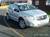2008 Dodge Caliber SXT CVT 2.0 petrol. 5 door hatch. Auto. Low miles 41000 miles. 2 family owners.