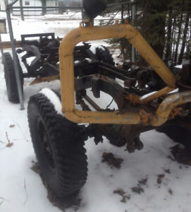 Military surplus. Skidder Transfer case and 30 ton winch