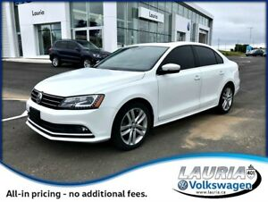 2015 Volkswagen Jetta 2.0 TDI Highline - 1-owner - Navigation /