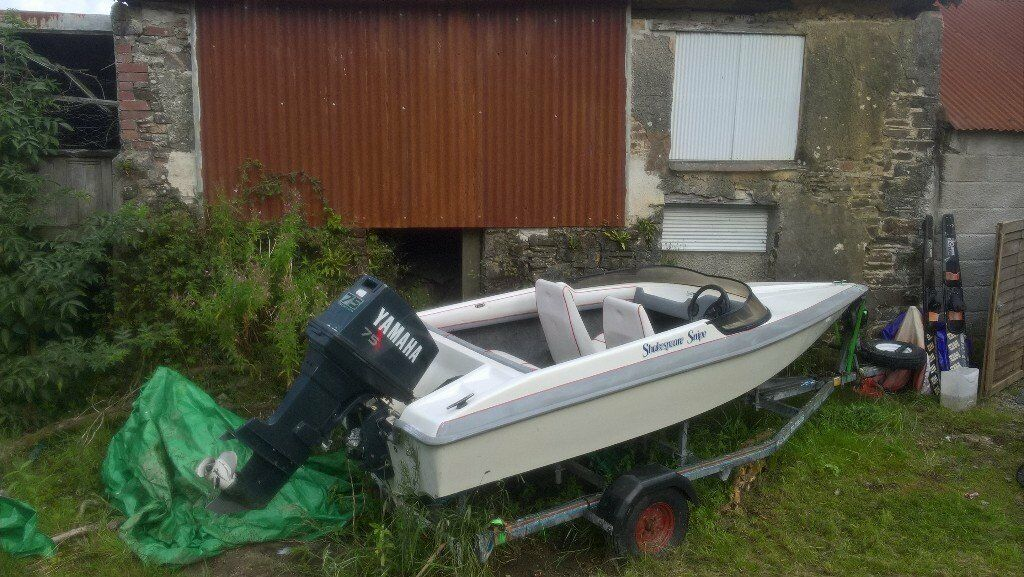 15ft Shakespeare Snipe Speed Boat