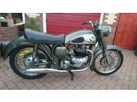 Norton Dominator 99, very good condition. Largely unmolested. Lovely bike