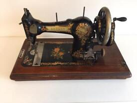 Rushby Hand Crank Sewing Machine