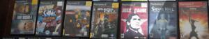 Jeux PS2, incluant le jeu rare Silent Hill Shattered Memories