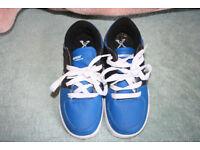 Childs sidewalk Sport lane wheeled skate shoes (size 1)