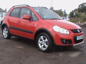 SUZUKI SX4 1.6 SZ5 4X4 5 DR RED 1 YRS MOT CLICK ON VIDEO LINK TO SEE MORE DETAILS OF THIS CAR