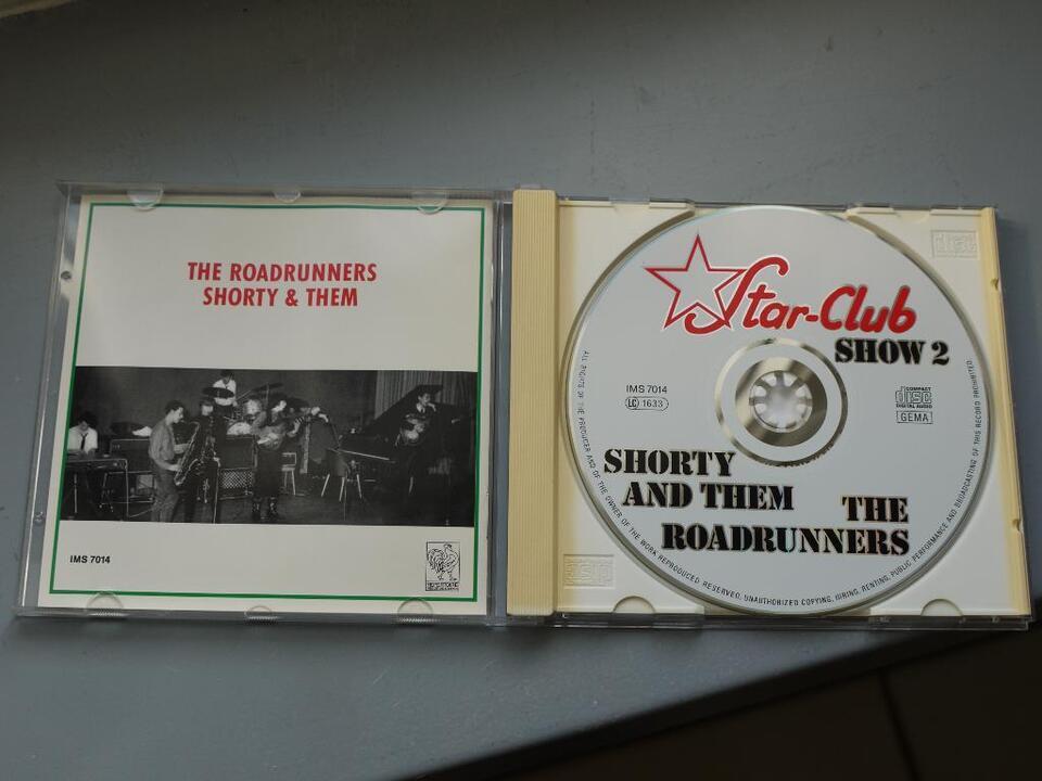 SHORTY and THEM, The ROADRUNNERS Star Club CD Album RAR in Bovenden