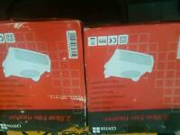 2 Fan heaters 2.0kw very good condition