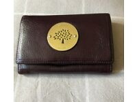 Genuine mulberry oxblood daria purse