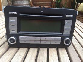 CD player radio for golf