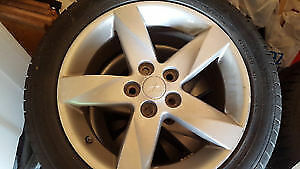4 Mag Rims in good condition 5x114.3 with tires