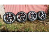 16 inch 4x100 vauxhall corsa astra vw mazda mx5 vw Renault alloys 195/45/16