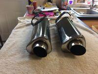 Sp engineering twin exhaust