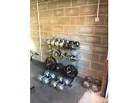 PowerTech Hex Dumbells 15kg, 20kg, 22.5kg, 25kg, 27.5kg and 30kg