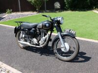 350 AJS VERY ORIGINAL CONDITION 1954