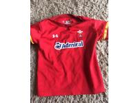 Boys Welsh Top Age 2