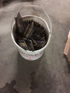 New bucket of 2 1/4 paslode nails