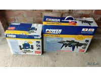 Router and table ( Power Craft ) brand new never used