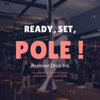 Get a TOTAL BODY Workout ($5) with Pole Fitness Kingston!