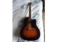 Epiphone AJ200 electro -acoustic guita