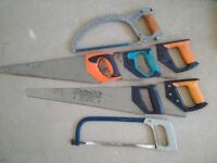 Hand Saws / Hack Saws (x 7 Items)