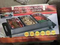 Professional Hotplate and Buffet Server