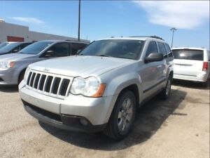 2008 Jeep Grand Cherokee LAREDO**LEATHER**SUNROOF**BLUETOOTH**