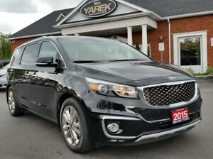 2015 Kia Sedona SXL, Leather Heated/Vented Seats, 360 Cam, Pwr D