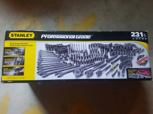 Stanley professional grade tool set