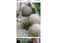 Large heavy Balls for walls, gate posts and gardens NEW
