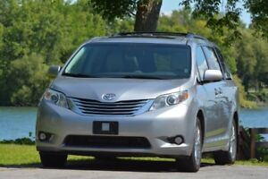 2012, Sienna Limited AWD, garantie full Toyota, une seule taxe