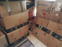 Free boxes for moving etc.
