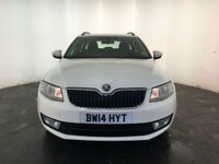 2014 SKODA OCTAVIA SE TDI CR DIESEL ESTATE 1 OWNER SERVICE HISTORY FINANCE PX