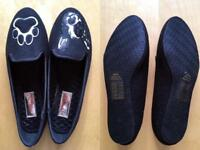 Brand-new Ted Baker wool flat shoes