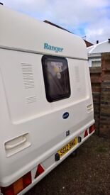 BAILEY RANGER 510/4 Caravan for sale, perfect order, registered 2002, dry throughout, full awning