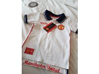 OFFICIAL MUFC polo shirt (BNWT- aged 18-23m)