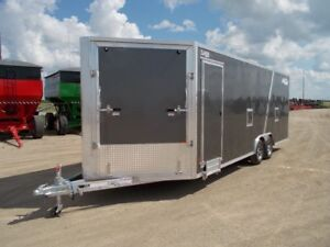 2017 ALCOM HCH 8.5x22 AS Enclosed Car Hauler Trailer
