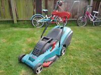 BOSCH Rotak 40 Electric Lawnmower in very good condition.