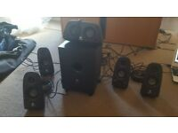 Logitech Z506 5.1 Speakers - Used - Great Condition For CD Player pr PS3 +