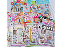 Older issues of various cross stitch magzine all in good order