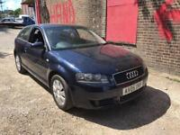 AUDI A3 1.6 PETROL 05 PLATE LONG MOT VERY GOOD CONDITION £850