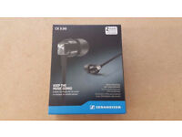 SENNHEISER CX 3.00 IN-EAR HEADPHONES BRAND NEW SEALED WITH RECEIPT