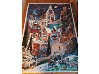 2000p. puzzle - Castle of horror