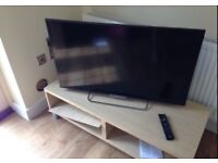 TV unit oak veneer