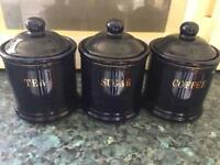 Tea and coffee canisters
