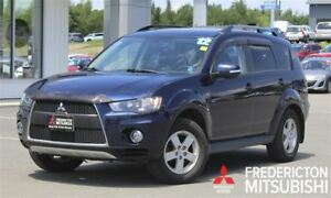 2012 Mitsubishi Outlander LS! AWD! V6! 7-SEATER!! HEATED SEATS!