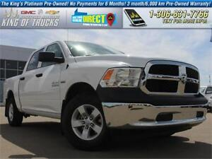 2014 Ram 1500 Tradesman PST Paid | Low KM
