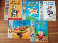 Collection of children story books and DVD (great for bedtime)
