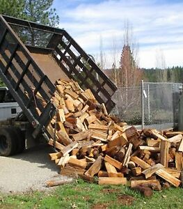 FIREWOOD HARDWOOD NOW cut split and dried $210 401-3704