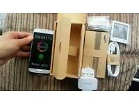 Samsung galaxy S4 Brand new with warranty and accessories unlocked!